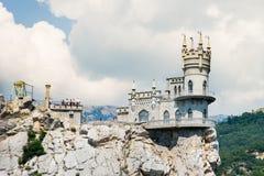 La Crimea, il nido del sorso Fotografia Stock