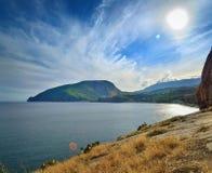 La Crimea, montagna dell'orso Immagini Stock Libere da Diritti