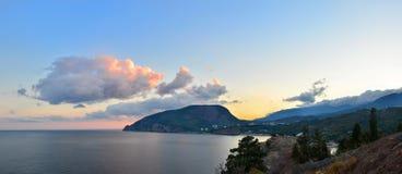 La Crimea, montagna dell'orso Fotografia Stock