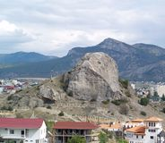 La Crimea, Sudak Fotografie Stock Libere da Diritti