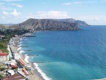 La Crimea, Sudak Immagini Stock