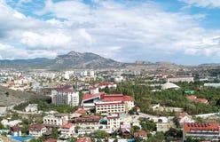 La Crimea, Sudak Immagine Stock
