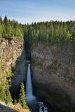 La crique de Spahats tombe en Wells Gray Provincial Park Photos stock