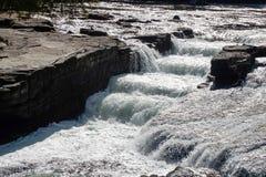 La crisalide cade parco naturale, Puntledge ~ Comox-Strathcona, isola di Vancouver, BC, il Canada fotografia stock