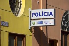 La crise économique en Rio de Janeiro affecte la police Photographie stock