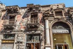 La crisis euro y financiera golpea Southern Europe difícilmente Fotografía de archivo libre de regalías