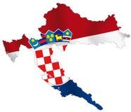 La Croatie illustration de vecteur