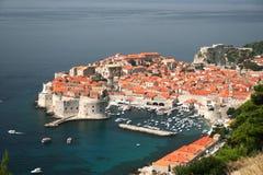 La Croatie, dubrovnik Photos libres de droits