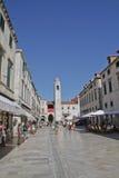 La Croatie, Dubrovnik image libre de droits