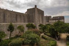 La Croatie. Forteresse de Dubrovnik Photographie stock