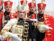 La Croatie/garde d'honneur Battalion/égalité entre les sexes Photos libres de droits