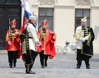 La Croatie/garde d'honneur Battalion Photo libre de droits