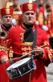 La Croatie/garde d'honneur Battalion/batteur Photographie stock