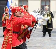 La Croatie/garde d'honneur Battalion/perfection Photo libre de droits