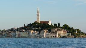 La Croatie. Genre sur Rovinj Images stock
