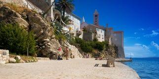 La Croatie, Rab City Image libre de droits