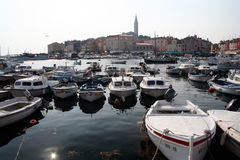 La Croatie-Rovinj photos stock