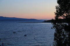 La Croatie, voyage à Brac, année 2013 Photos libres de droits