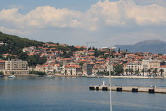 La Croatie, voyage à Brac, année 2013 Photographie stock