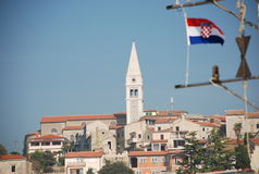 la Croatie vrsar Images stock