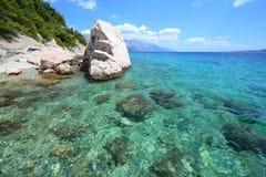 La Croazia - mare adriatico fotografia stock