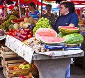 La Croazia, Traù - mercato dell'aria aperta Fotografie Stock