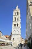 La Croazia, via di Zadar Città Vecchia Fotografia Stock Libera da Diritti