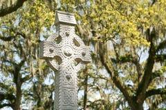 La croce celtica Fotografie Stock Libere da Diritti