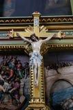 La crocifissione, Gesù è morto sull'incrocio Immagini Stock Libere da Diritti