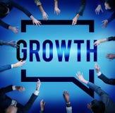 La croissance élèvent le concept de changement d'amélioration de développement Image libre de droits