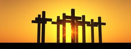 La croix 5 Photographie stock