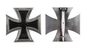 La croix allemande de fer de 1 classe Photographie stock