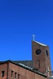 la croix de l'église Photo libre de droits