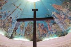 La croix de Magellan à Cebu, Philippines Photos stock
