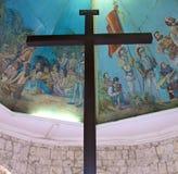 La croix de Magellan à Cebu, Philippines Images libres de droits