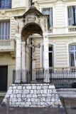 La Croix de Marbre in Nizza, Frankreich Stockfotografie