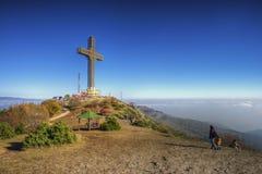 La croix de millénaire Images libres de droits