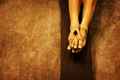 La crucifissione del Gesù Cristo Fotografia Stock