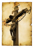 La crucifixion images stock