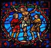La crucifixion de Jésus Images libres de droits