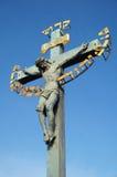 La crucifixion du Jésus-Christ Photographie stock