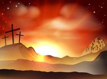 La cruz Fotografía de archivo libre de regalías