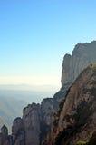 La cruz de San Miguel, Montserrat, Cataluña, España Fotos de archivo libres de regalías