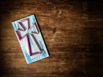 La cruz del hilado y de los clavos Fotografía de archivo libre de regalías
