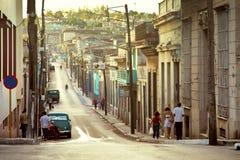 La Cuba, città di Matanzas Immagini Stock