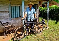 La Cuba rurale fotografia stock