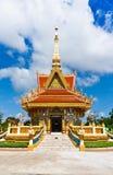 La cubierta de Mondop en el templo en Tailandia Foto de archivo libre de regalías