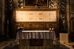 La cubierta santa Imagen de archivo libre de regalías