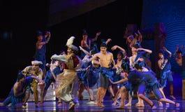 """La cubierta se divierte sueño del """"The del drama de la reunión-danza del  de seda marítimo de Road†Imagenes de archivo"""