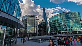 La cucharada en Londres almacen de metraje de vídeo